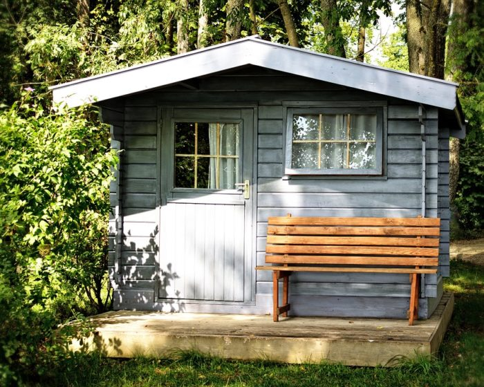 Abri De Jardin, Cabane En Rondins, Jardin, Hutte
