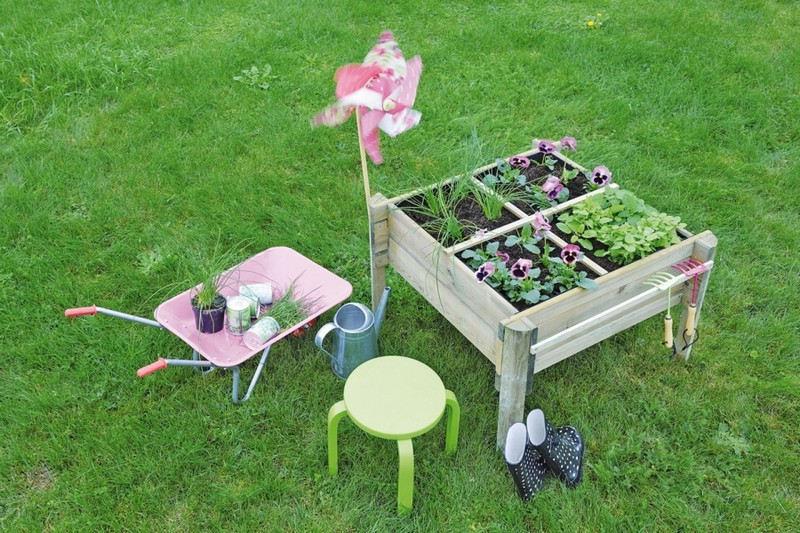 Activités pour jardiner avec les enfants