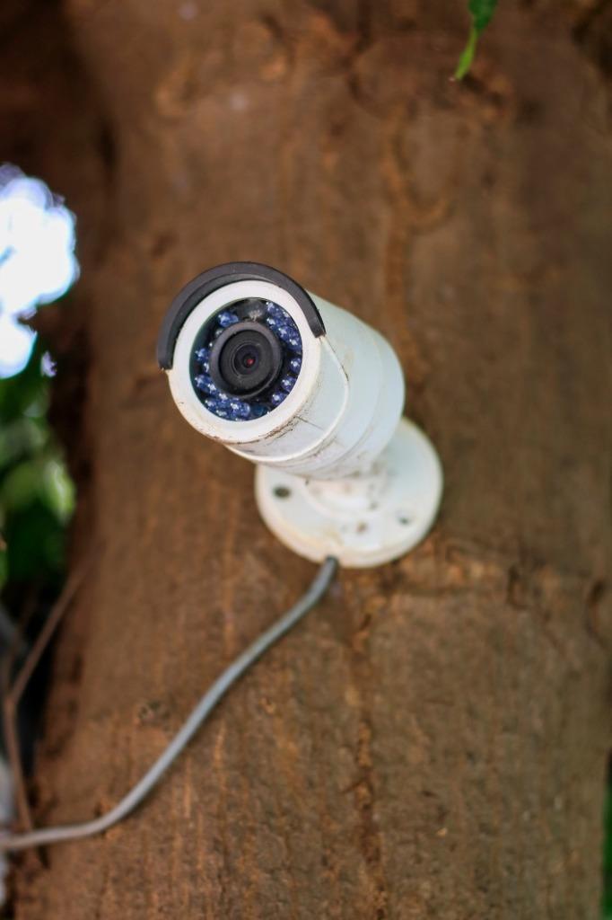 caméra jardin