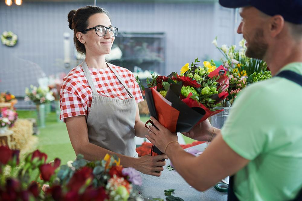 envoi de bouquet de fleurs