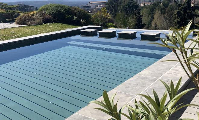 fonds mobiles de piscine