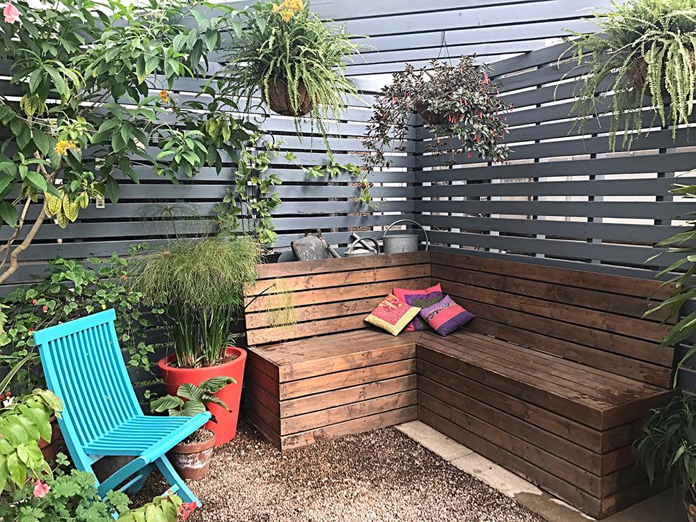 meubles de jardin DIY
