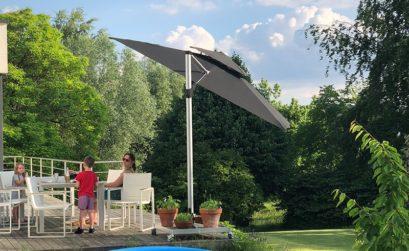 modèle de parasol déporté Solero Fratello pro