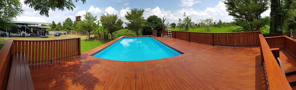 parquet piscine
