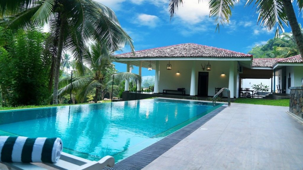 piscine attrayante