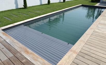 piscine avec volet