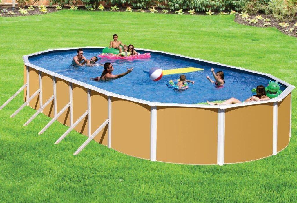 La piscine rien que pour eux