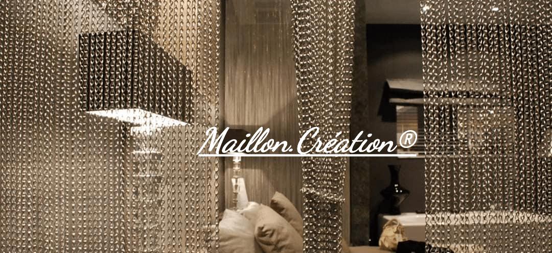 rideaux MaillonCréation